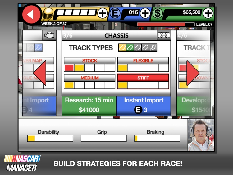 Nascar Manager Screenshot