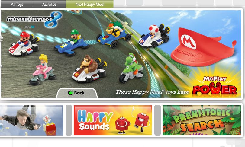 Happy Meal Mario Kart 8 Toys