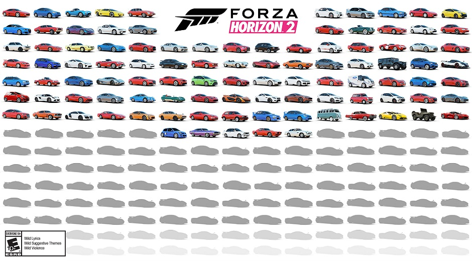 Forza Horizon Car Reveal