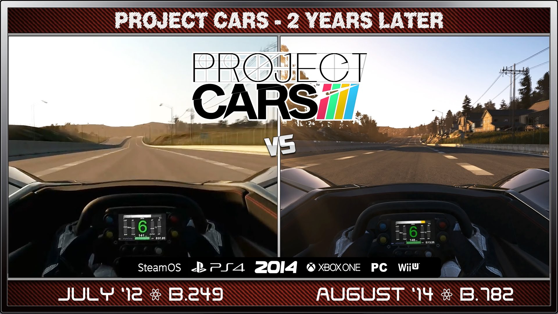 two years of progress on project cars racing game central. Black Bedroom Furniture Sets. Home Design Ideas