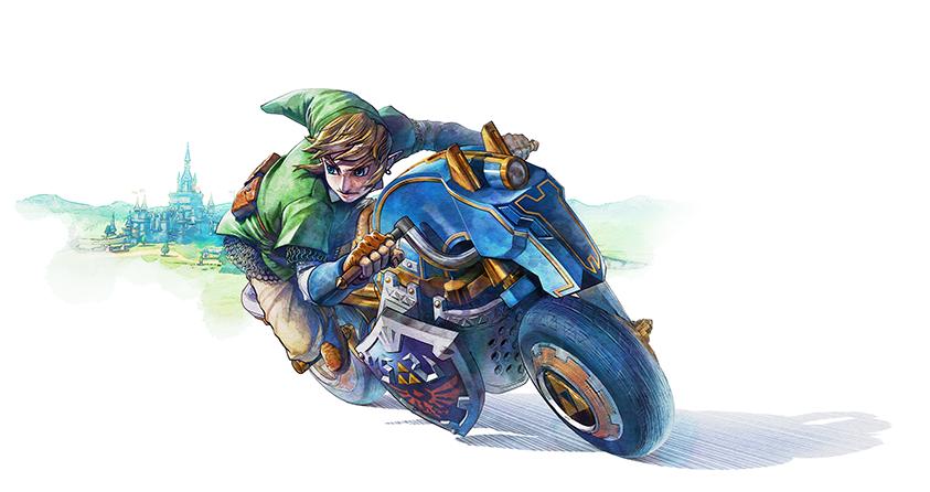 Mario Kart 8 Link's Master Cycle