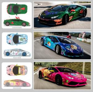 Kid's Forza Horizon 2 Liveries