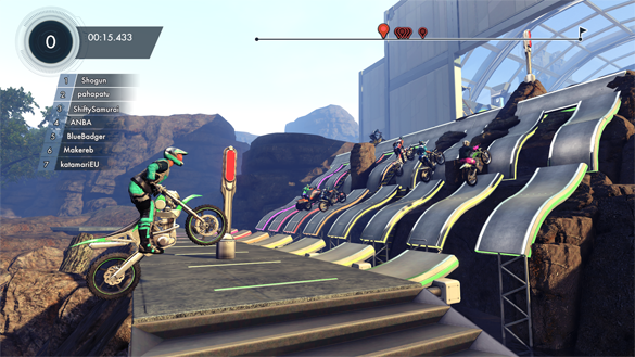 Trials Fusion Multiplayer