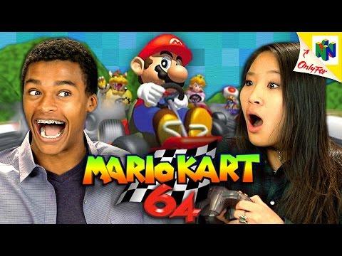 Teens React To Mario Kart 64, Make Us Feel Old