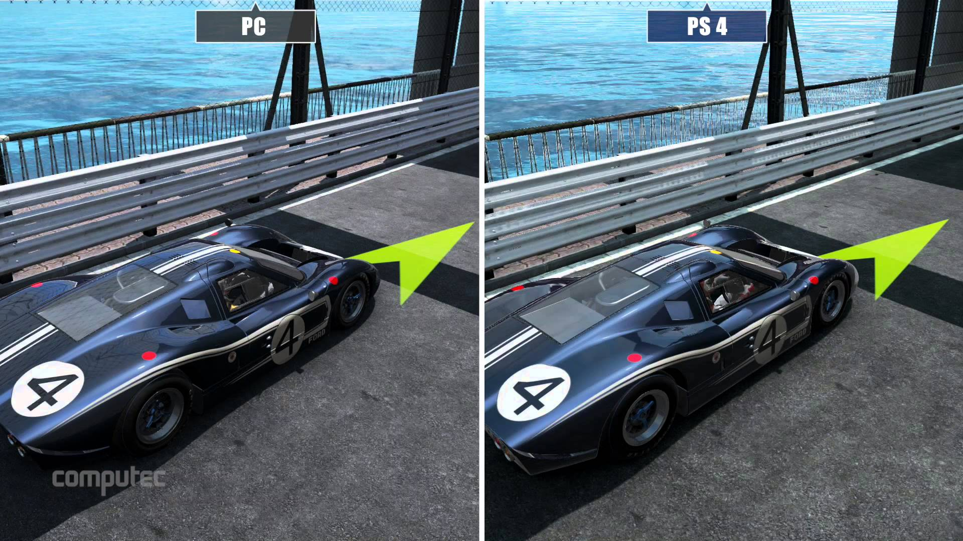 Project CARS PC Vs PS4 Comparison