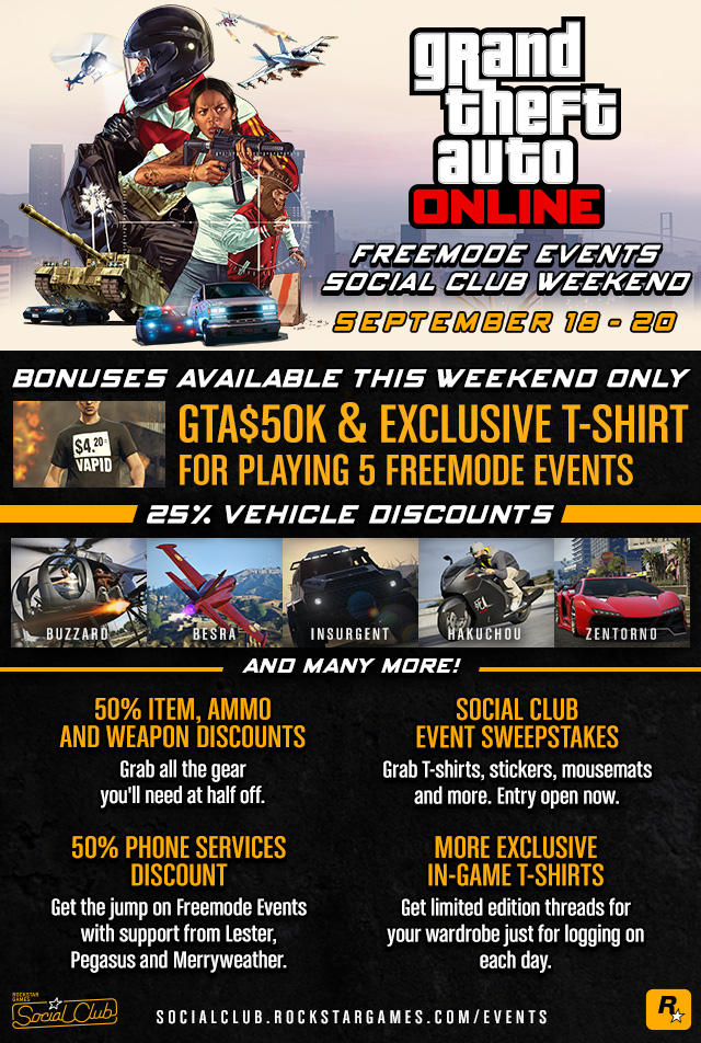 weekend event