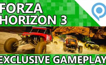 New Forza Horizon 3 Gameplay Footage From Gamescom