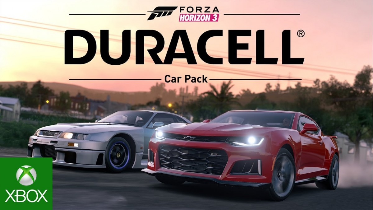 forza horizon 3 gives you seven new cars in duracell car pack racing game central. Black Bedroom Furniture Sets. Home Design Ideas