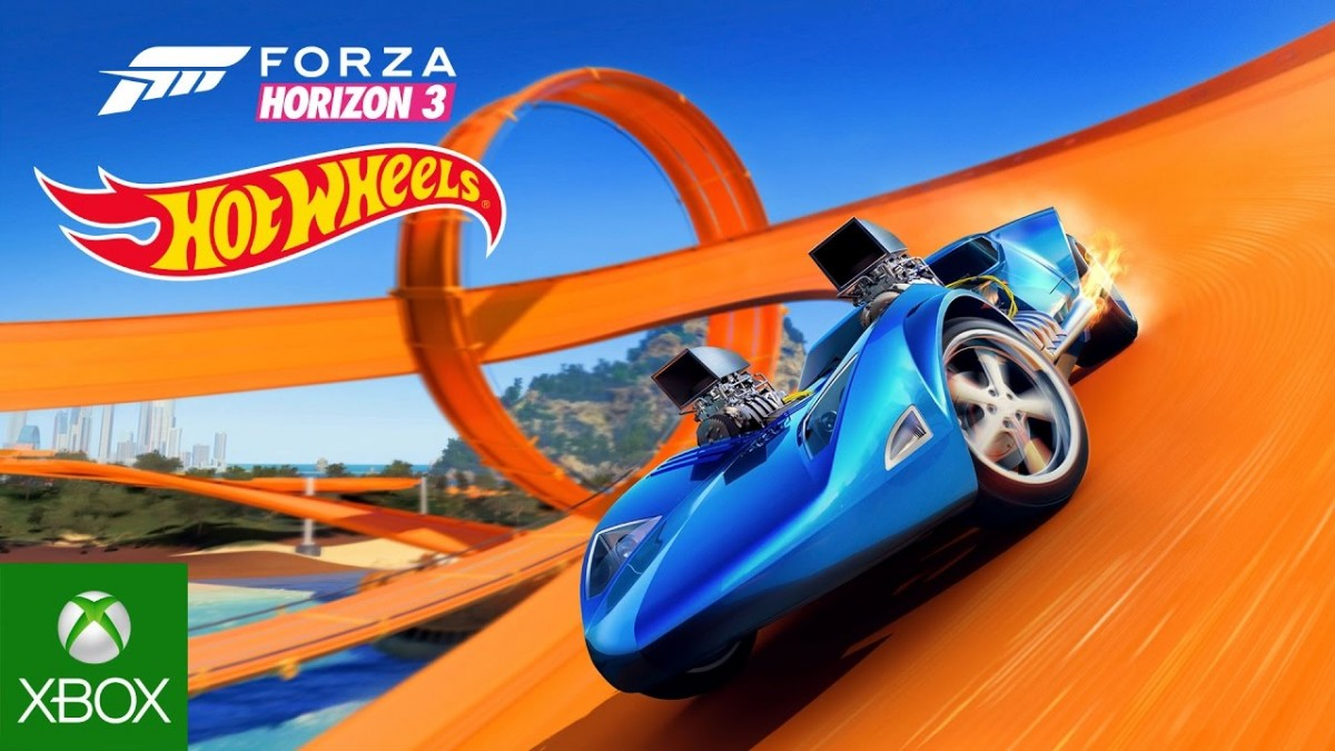 Hot wheels forza horizon 3 game