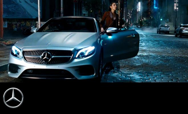 Mercedes amg vision gran turismo in cahoots with justice for Justice league mercedes benz
