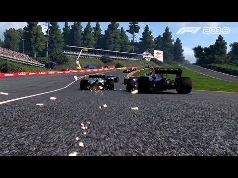 F1 2018's Second Gameplay Trailer