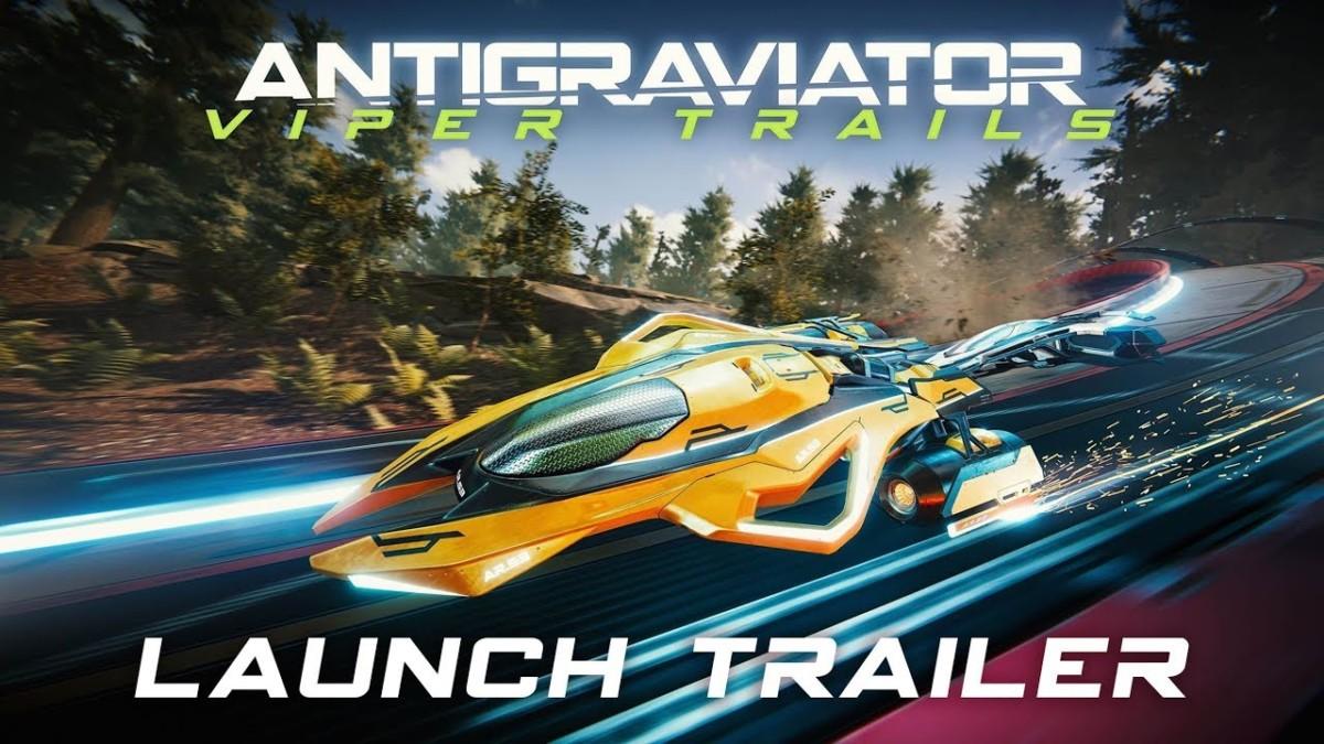 Antigraviator: Viper Trails DLC Released