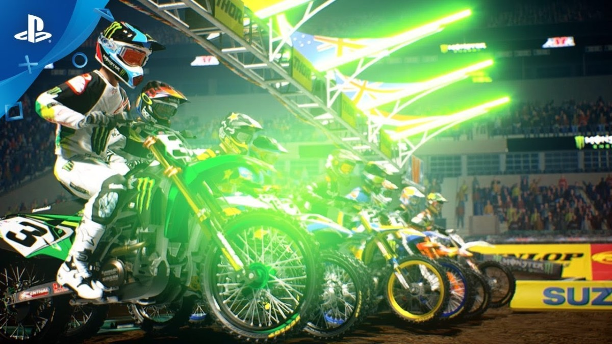 Monster Energy Supercross – The Official Videogame 2 – Announcement Trailer