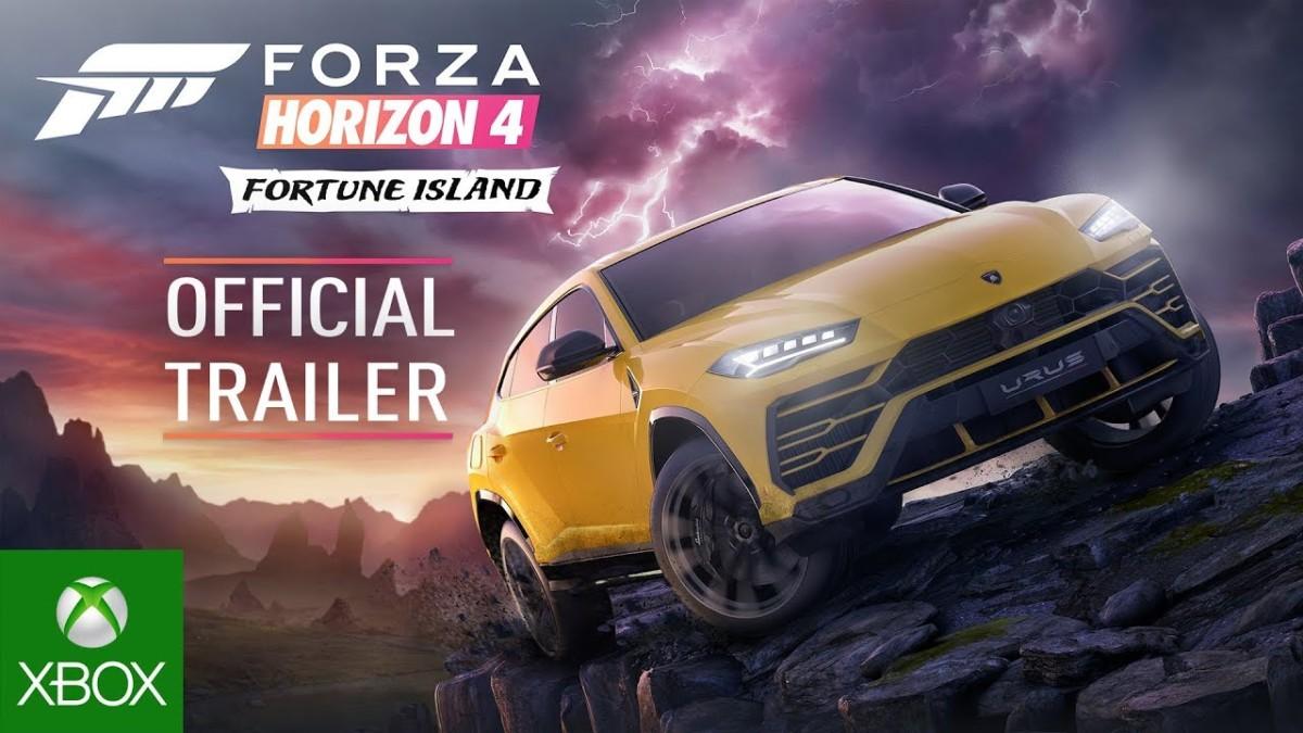 Forza Horizon 4 Fortune Island Official Trailer