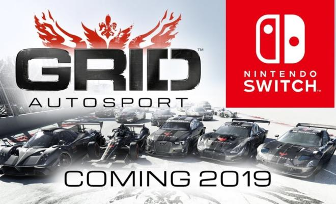 GRID Autosport Confirmed For Nintendo Switch - Racing Game