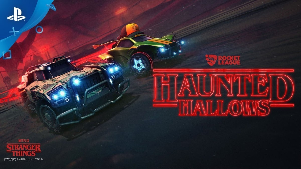 Rocket League Goes To Haunted Hallows Next Week
