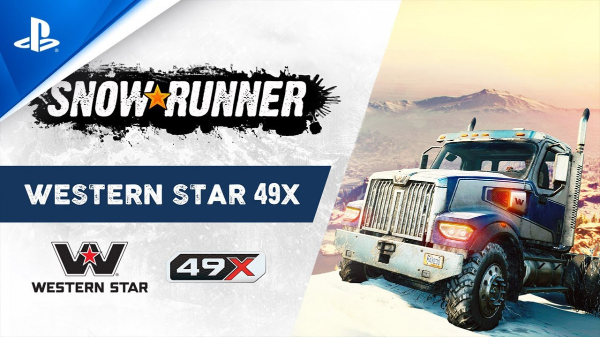 SnowRunner Introduces The Western Star 49X