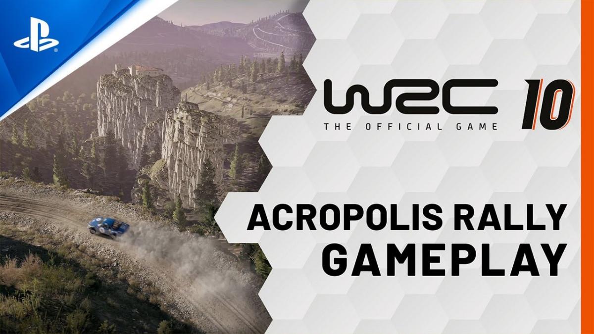 WRC 10 Acropolis Rally Greece Gameplay